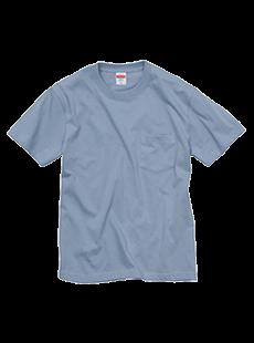 5006-01 5.6オンス ハイクオリティー Tシャツ(ポケット付)