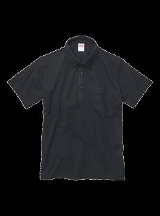 5051-01 5.3オンス ドライカノコ ユーティリティー ポロシャツ(ボタンダウン)(ポケット付)