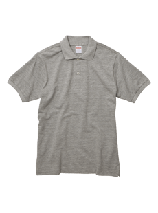 5543-01 6.0オンス ヘヴィーウェイト コットン ポロシャツ