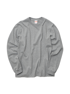 4262-01 オーセンティック スーパーヘヴィーウェイト <br>7.1オンス ロングスリーブ Tシャツ(1.6インチリブ)