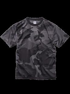 5906-01 4.1オンス ドライアスレチック カモフラージュ Tシャツ