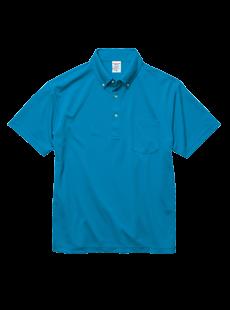 5921-01 4.1オンス ドライアスレチック ポロシャツ<br>(ボタンダウン)(ポケット付)